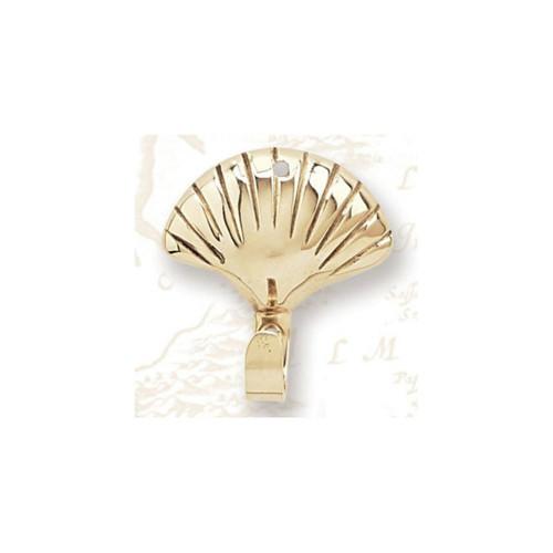 Brass Coat Hanger - Shell