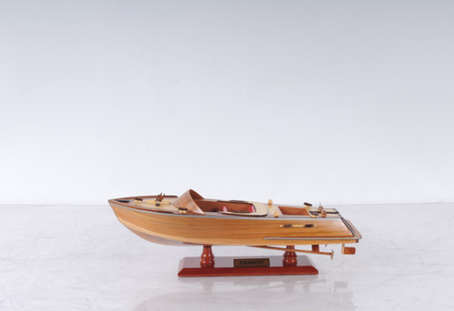 Runabout Canoe with Optional Personalized Plaque