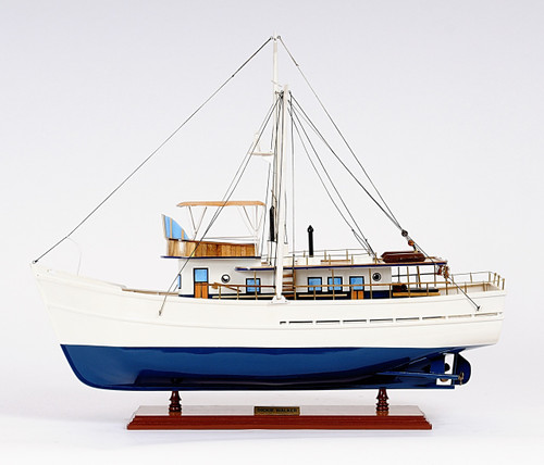 Dickie Walker Trawler Yacht with Optional Personalized Plaque