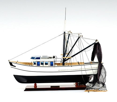 Shrimp Boat with Optional Personalized Plaque