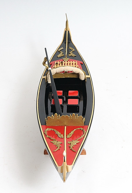 Venetian Gondola with Optional Personalized Plaque