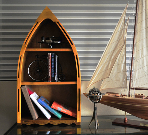 Canoe Book Shelf -  Small