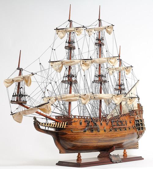 "HMS Fairfax Model Ship - 32"""