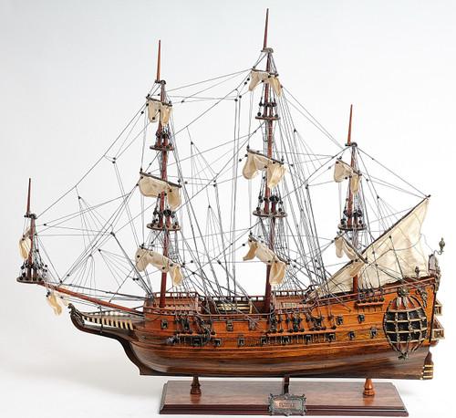 "HMS Fairfax Model Ship - 32"" - Optional Personalized Plaque"