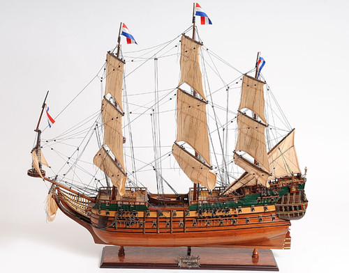 "Friesland Model Ship - 26"" - Optional Personalized Plaque"