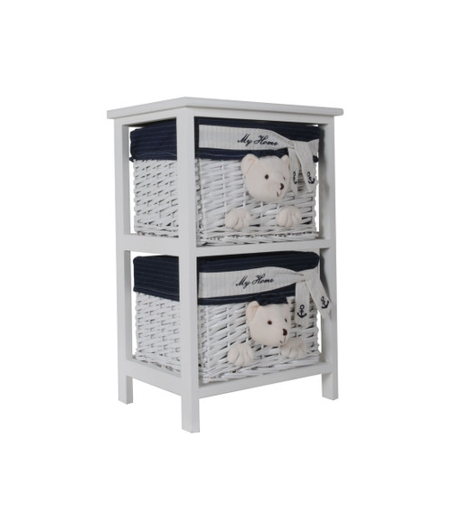 Portable 2-Drawer Set