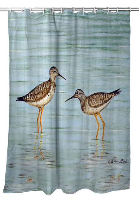 Yellowlegs Shower Curtain