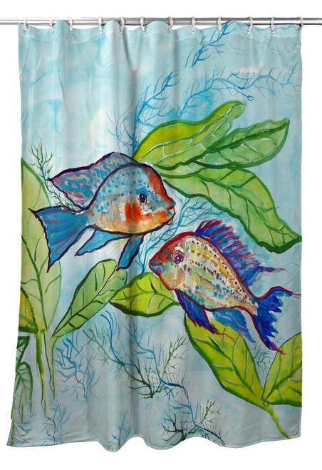 Pair of Fish Shower Curtain