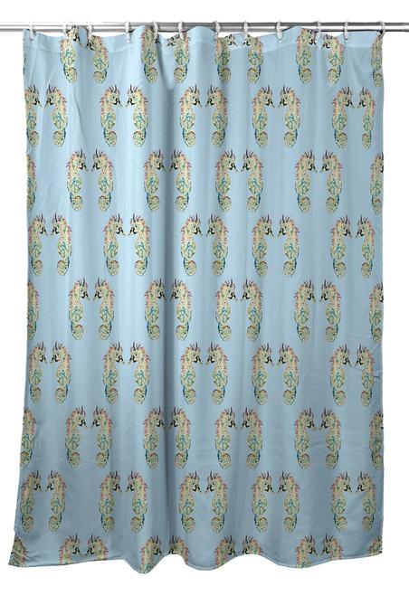 Betsy's Sea Horse Shower Curtain