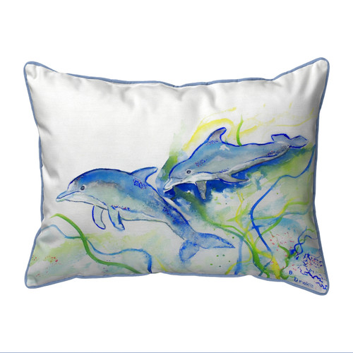 Betsy's Dolphins Pillows
