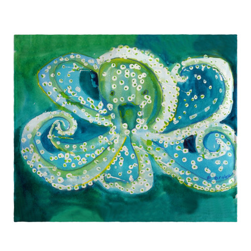 Octopus Fleece Throw