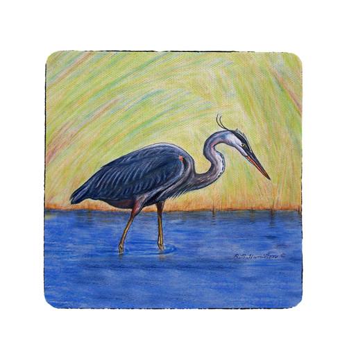 Blue Heron Coasters - Set of 4