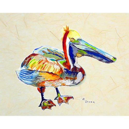 Heathcliff Pelican B Door Mat