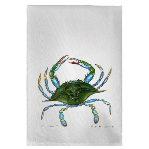 Blue Crab Guest Towels - Set of 4