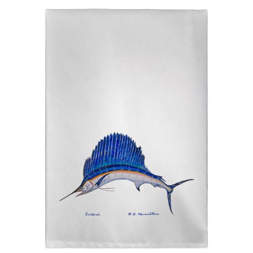 Sailfish Guest Towels - Set of 4
