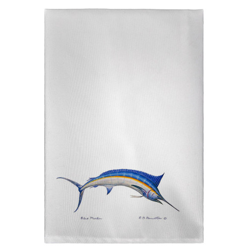 Blue Marlin Guest Towels - Set of 4