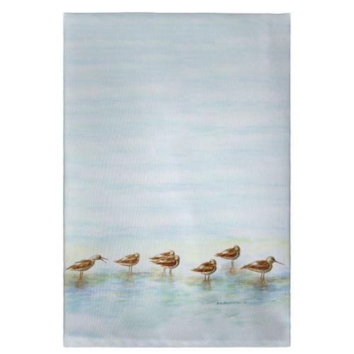 Avocets Guest Towels - Set of 4