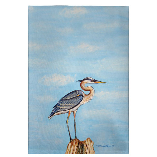 Blue Heron on Stump Guest Towels - Set of 4