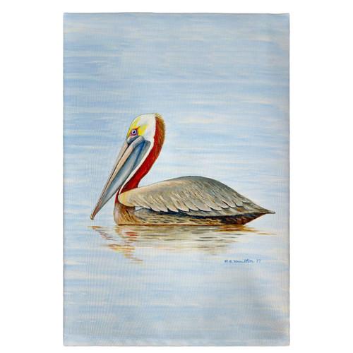 Summer Pelican Guest Towels - Set of 4