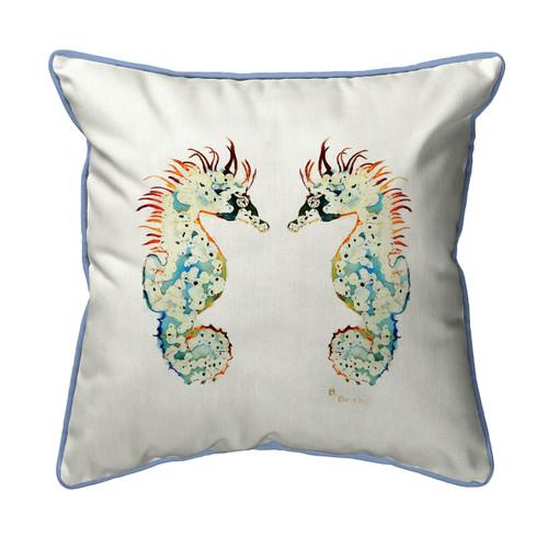Betsy's Seahorse Pillows
