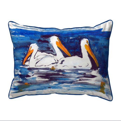 Three Pelicans Pillows