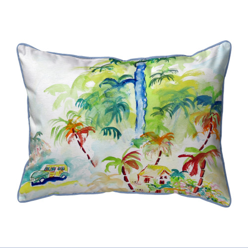 Colorful Palms Pillows