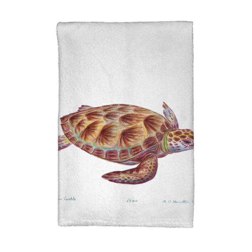 Green Sea Turtle Kitchen Towels - Set of 4