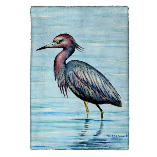 Dick's Little Blue Heron Kitchen Towels - Set of 4