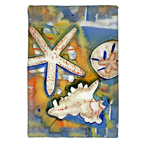Beach Treasures Kitchen Towels - Set of 4