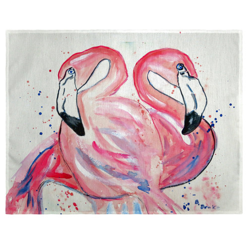 Betsy's Flamingos Place Mats - Set of 2