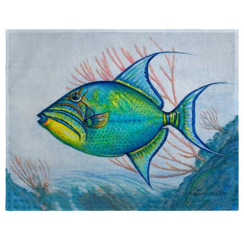 Trigger Fish Place Mats - Set of 2