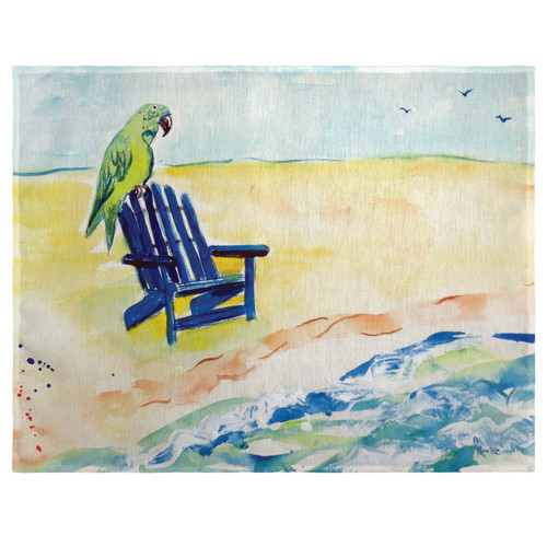 Parrot and Chair Place Mats - Set of 2