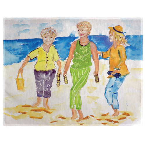 Grandma at the Beach Place Mats - Set of 2