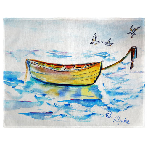 Yellow Rowboat Place Mats - Set of 2