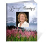 Seasons Funeral Booklet Template (Legal Size)