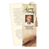 Harmony DIY Funeral Memorial Bookmark Template