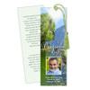 Reflection DIY Funeral Memorial Bookmark Template