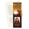 Renewal DIY Funeral Memorial Bookmark Template