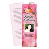 Rosy DIY Funeral Memorial Bookmark Template