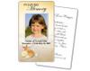 Seashore Prayer Card Template