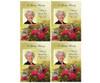 Bouquet Flat Card Template