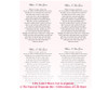 Carly DIY Funeral Card Template inside