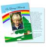 Delight DIY Funeral Card Template | Memorial Card