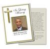 Embassy DIY Funeral Card Template