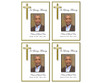 Embassy DIY Funeral Card Template front