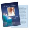 Enlighten DIY Funeral Card Template