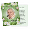 Garden Enlighten DIY Funeral Card Template