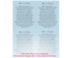 Holy DIY Funeral Card Template inside