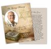 Jewish DIY Funeral Card Template