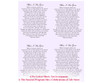 Lilac DIY Funeral Card Template inside